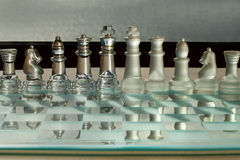Chess Pieces, Board - business concept series. Stock Images