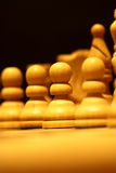 Chess pieces C Royalty Free Stock Image