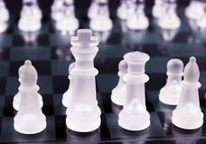 Chess pieces Stock Images
