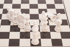 Chess pieces  figure Royalty Free Stock Images