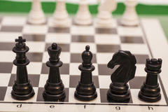 Chess pieces  figure Stock Photography