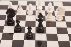 Chess pieces  figure Stock Photo