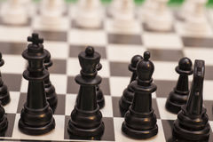 Chess pieces  figure Stock Images