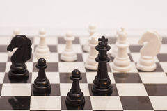 Chess pieces  figure Stock Image