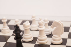 Chess pieces  figure Royalty Free Stock Photo