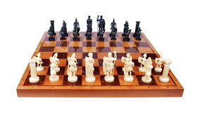 Chess pieces in the form of the Romans Royalty Free Stock Photos