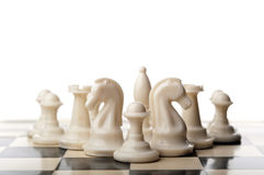 Free Chess Pieces Isolated Stock Photo - 28824270