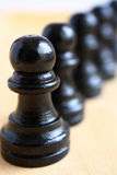 Chess pieces macro. Stock Images