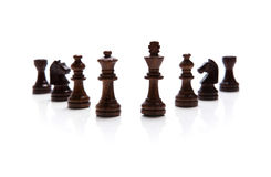 Chess pieces set Royalty Free Stock Photography