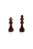 Chess pieces set. On white background Stock Photography