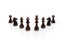 Chess pieces set Stock Photos