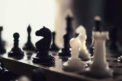 Chess pieces. chess tournament Stock Photo