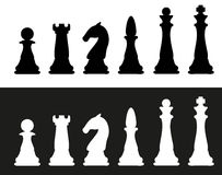 Free Chess Pieces Vector Illustration Stock Photos - 25630133