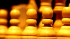 Chess pieces A Royalty Free Stock Images