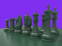 Chess piecies Stock Photography