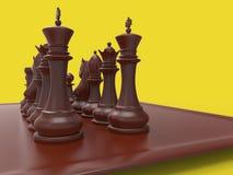 Chess piecies Stock Photo