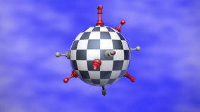 Chess Planet stock video footage