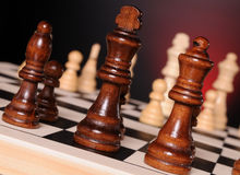 Chess play Royalty Free Stock Photo