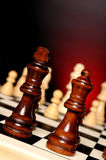 Chess play Royalty Free Stock Image