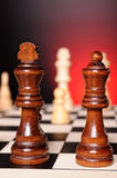 Chess play Stock Photo