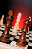 Chess play Stock Images