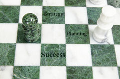 Chess play Royalty Free Stock Photography