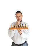 Chess player Royalty Free Stock Images
