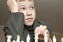 Chess-player Stock Images