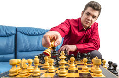 The Chess Player Stock Images