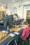 Chess player Royalty Free Stock Photo