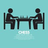 Chess Player Sign Stock Photos
