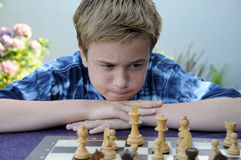Chess player Stock Photos