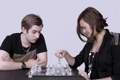 Chess players Royalty Free Stock Photography