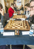 Chess players Royalty Free Stock Images