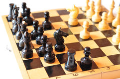 Chess playing Royalty Free Stock Images