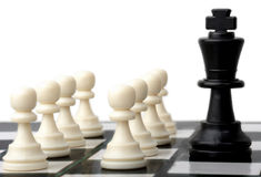 Chess power Royalty Free Stock Photo