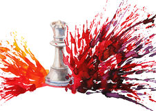 Chess queen Stock Image
