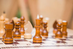 Chess queen Stock Photography