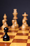 Chess racism Royalty Free Stock Photography