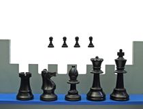 Chess rampart Stock Photo