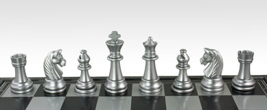 Chess Reunion Stock Photo