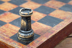 Chess rook corner Stock Photography