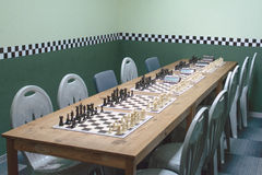 Chess room Royalty Free Stock Photo