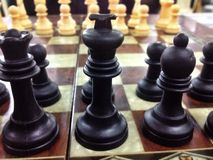 Chess in Saudi. The King in Taif Royalty Free Stock Photography