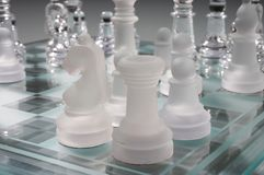 Chess - Schach Royalty Free Stock Images