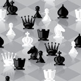 Chess seamless Stock Photo