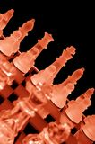 Chess series number 1 Stock Images