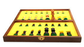 Chess set Stock Images