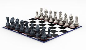Chess set Stock Image