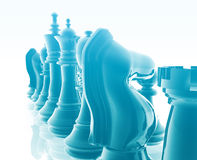 Chess set Stock Photo